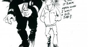 Interview. Alan Hardman: arbeider, artiest, socialistische cartoonist